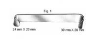 Wundhaken nach Roux, Fig. 1, 14.0 cm